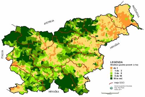 Struktura gozdne posesti v Sloveniji ...