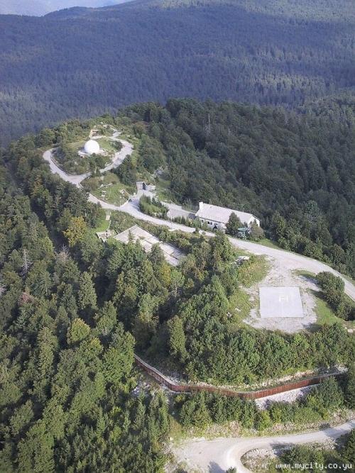Haarp Ljubljanski vrh jugovzhodno od Vrhnike