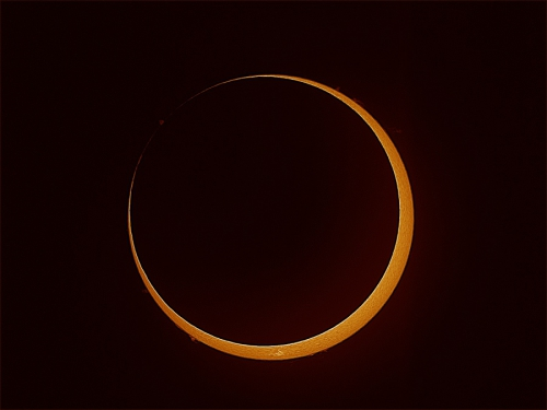 Southern Annular Eclipse<br> 26.4 2014<br> Astro