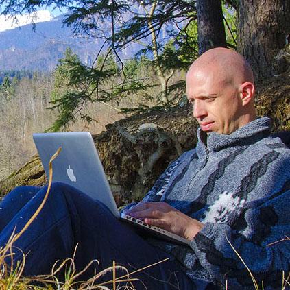 Valentin Rozman med bloganjem