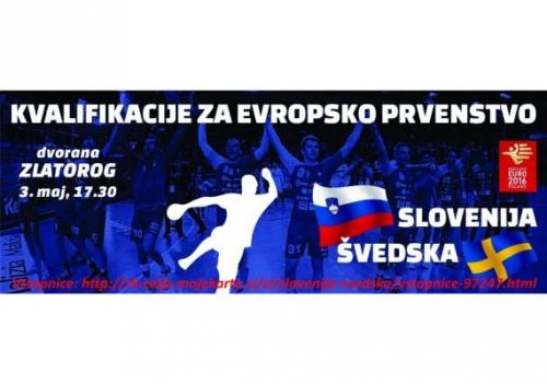 Rokomet Slovenija – Švedska