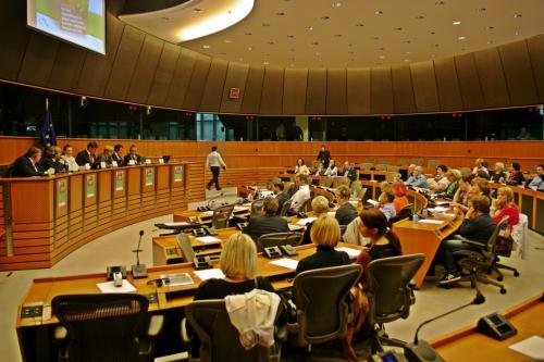 Na konferenci v Evropskem parlamentu Sadjarski in zelenjadarski sektor v Belgiji in Sloveniji - Ekonomski izzivi za proizvajalce.