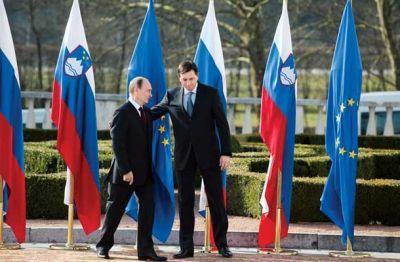 Pahorjev obrat:  Vladimir Putin,  leta 2011 (na Brdu) še zaveznik, danes nasprotnik