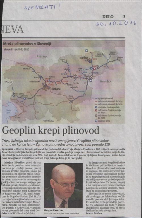 Članek Delo 30.10.2010
