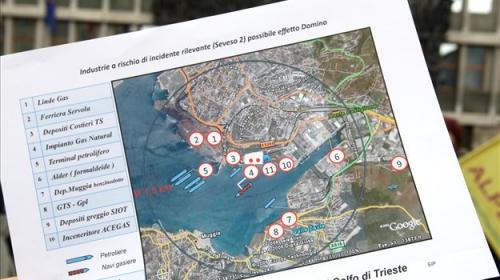 Italijansko ministrstvo odobrilo načrt za morski plinski terminal v Tržaškem zalivu