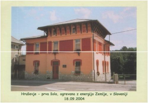 prva šola ogrevana z GEOSONDO v sloveniji