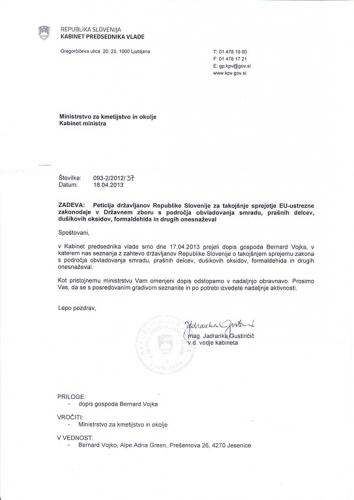 Odgovor Vlade RS na peticijo_0001