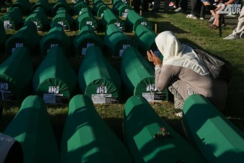 20. obletnica genocida v Srebrenici - 4