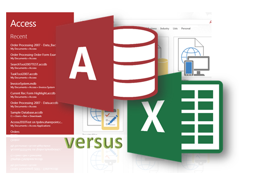 dbms access versus excel Access database vs excel one of the most common things we see is the use of microsoft excel as a database while excel is a very powerful tool, is it not meant to be used as a database.