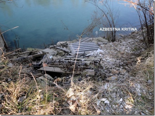 azbestna kritina v Savi