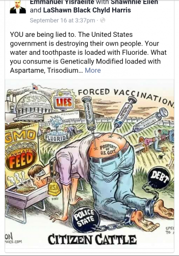 When will you sheeple wake up?