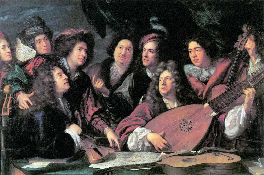 Spogledovanja s francosko baročno glasbo
