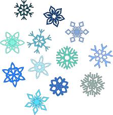Rezultat iskanja slik za snowflake clipart