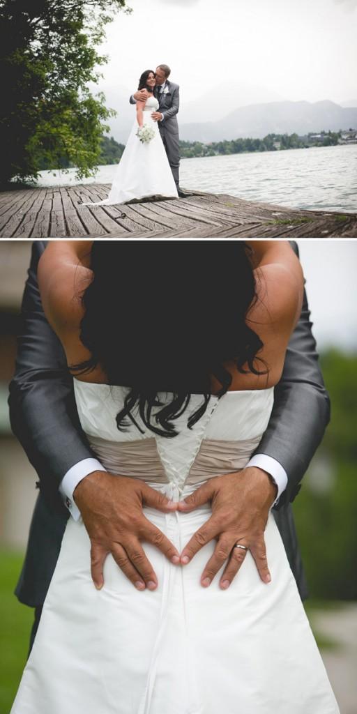 To so fotografije s poroke Sonje Bajc in Andreja Vizjaka na Bledu, julija letos, ki jih Vizjak, prek mariborske fotogafske agencije Mediaspeeed, ponuja medijem.