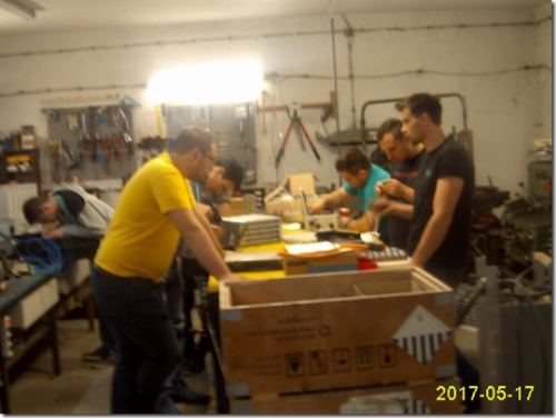 priprava nove elektro inštalacije in akumolatorjev