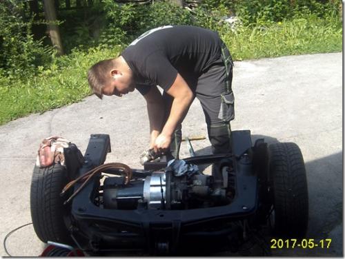 montaža elektro motorja (2)
