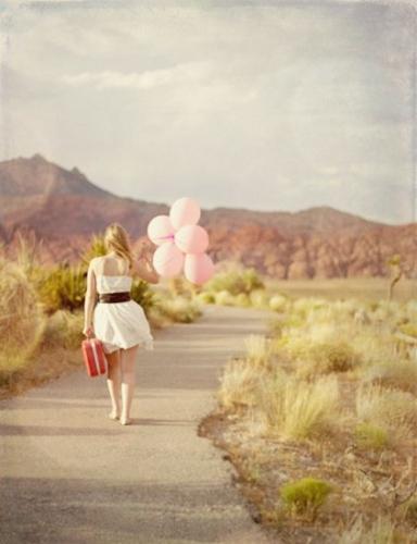 uteži/kovček in baloni