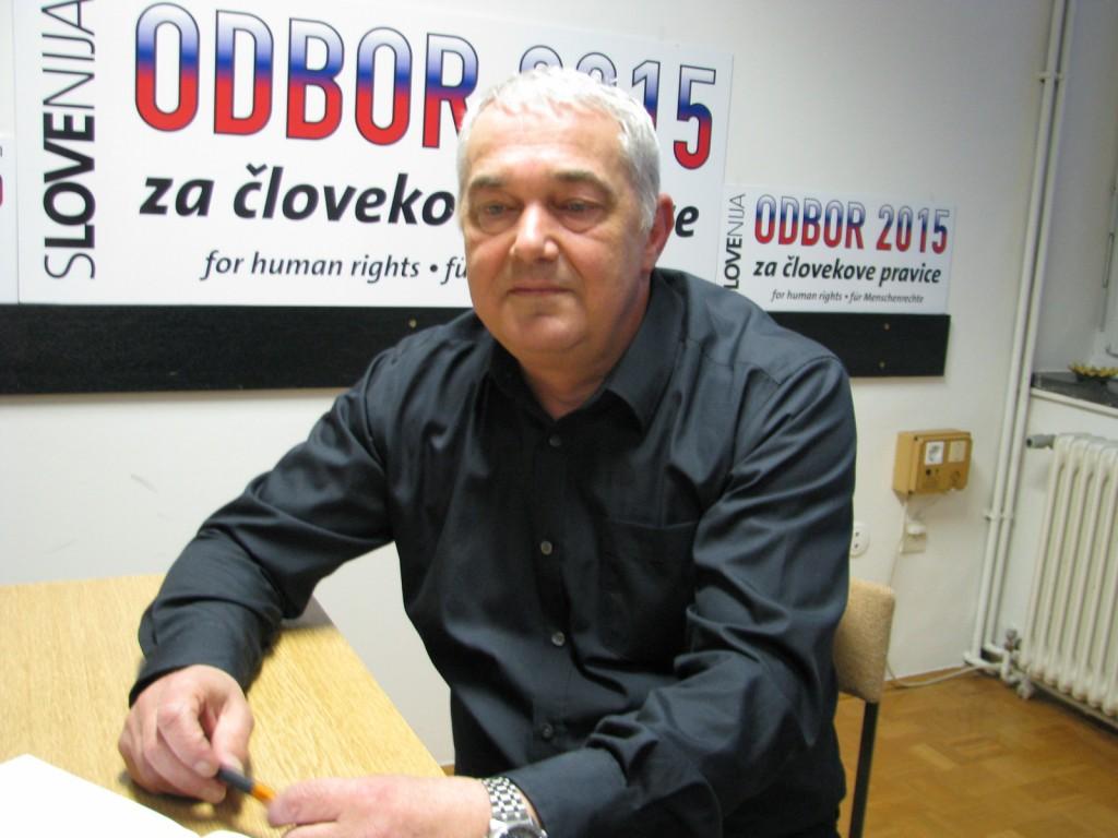 Željko Vogrin, predsednik Odbora 2015
