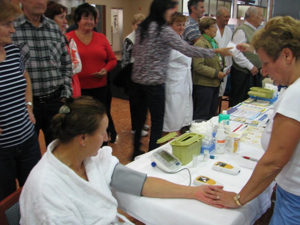 Zdravilišče Radenci - merjenje krvnega tlaka