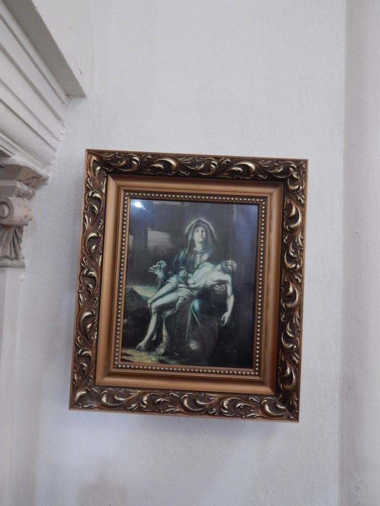 Žumberačka Bogorodica- Marija z mrtvim sinom v naročju
