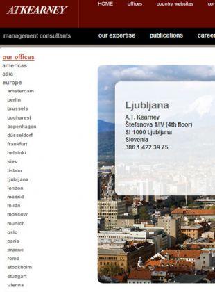 Spletna stran www.atkearney.si je po zamenjavi Andreja Vizjaka čudežno izpuhtela. Uradno je under construction.