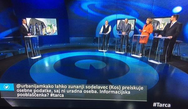Včerajšnja velika polomija s sestavo povabljenih gostov v oddaji Tarča je tipičen primer, kaj se zgodi, če neka oddaja nastane na podlagi odločitve zunanjih akterjev, tesno povezanih z vodilnimi uredniki ali urednicami na TV Slovenija.