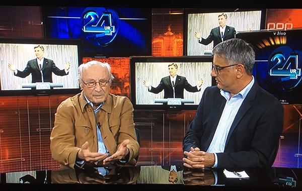 Nekdanji politik in bivši ustavni sodnik Ivan Kristan se je med oddajo 24ur zvečer - kjer je Pahorja napadal tudi zato, ker naj bi Pahor preveč obiskoval otroške vrtce in se tam slikal - popolnoma blamiral. Zraven njega je celo Matjaž Han, vodja poslanske skupine SD, izpadel kot velik intelektualec.
