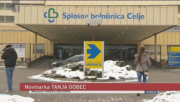... in tako včeraj zvečer, med TV Dnevnikom. Kot novinarka.