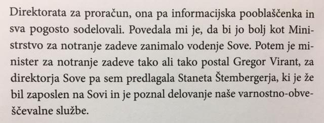Faksimile odlomka iz knjige Alenke Bratušek - V svojih čevljih, strani 70 in 72.