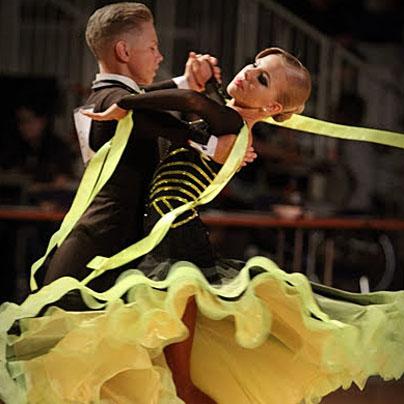 Žan in Ana Stajan sta zmagala v mladinski konkurenci. (Foto: Marko Mesec)
