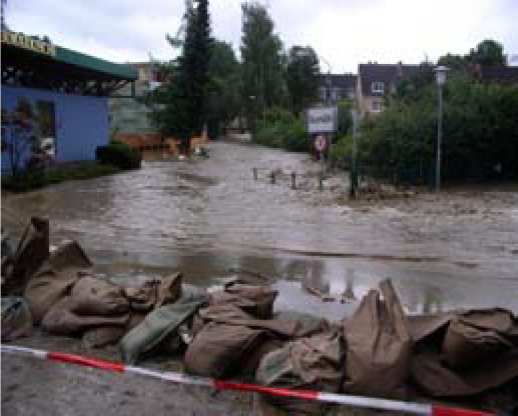 Fotografija 3: Graški potoki poplavljajo