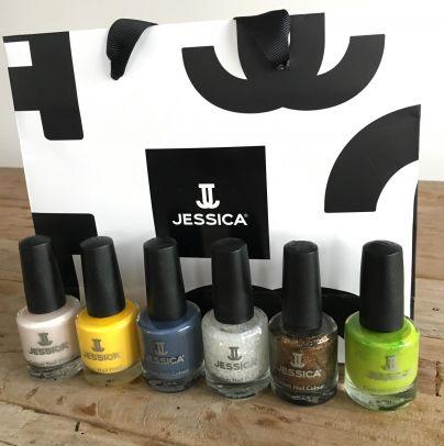 Šest posebnih lakov za nohte znamke Jessica za glasovalce in ...<br>