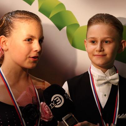 V intervjuju za Parado plesa (foto: Marko Mesec)<br>