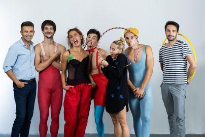 Balkan Dance Company s koreografom Aleksandrom Ilićem (levo) (foto: Nemanja Mareš)<br>
