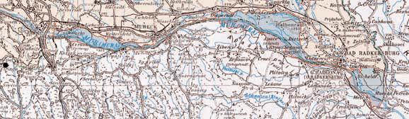 Obmocje projekta: A: 2.500 ha, Slo: 700 ha