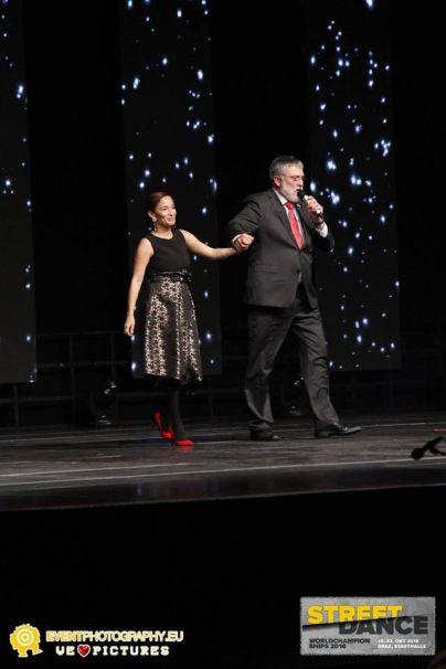 Podpredsednica IDO Fiona Johnson Kocjančič in predsednik IDO Michael Wendt<br>