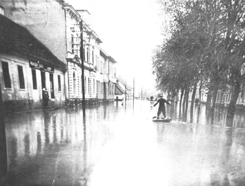 Poplavljena M.Sobota 12.11 .1925