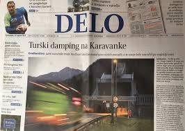 Tako sta Stojan Petrič in njegov Kolektor začela pohod na Karavanke, s člankom na naslovnici Dela o turškem dumpingu. No, Kolektor je kasneje izpadel iz igre.