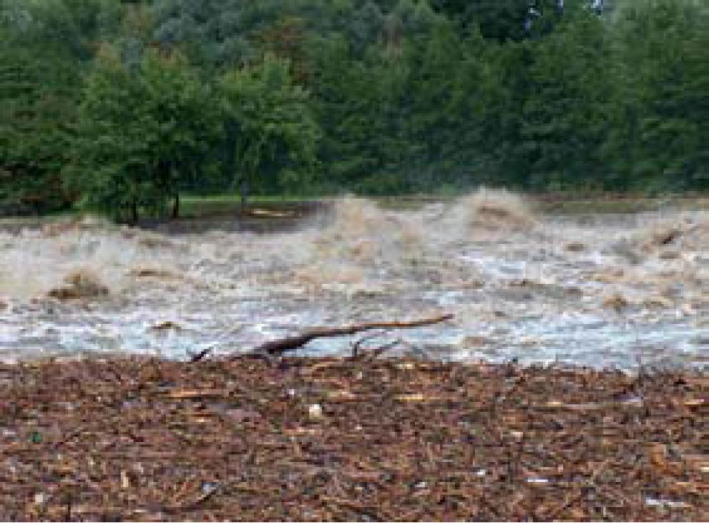 Poplava na reki Muri l .2005