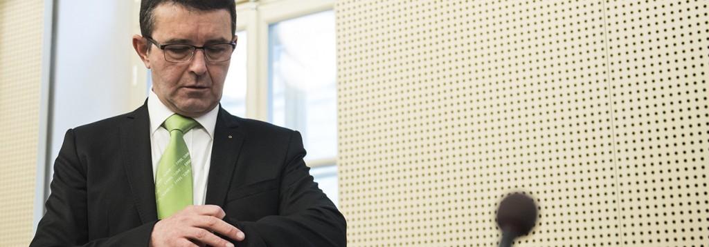 Boris Koprivnikar je nekdanji minister, bil je celo podpredsednik Cerarjeve vlade in bivši vidni član SMC. (foto: STA)