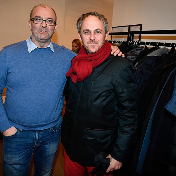 Sebastjan Jeretič in Andrej Bauman<br>