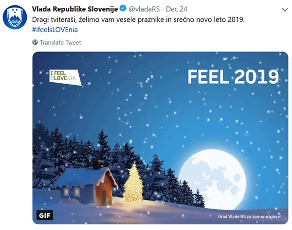 Tako nam je vlada na družbenih omrežjih letos zamolčala božič?!