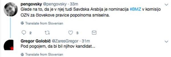 Gregor Golobič, Boštjan M. Zupančič in Savdska Arabija. Golobič sicer prek podjetja Margento, to je bivša Ultra, posluje v - Savdski Arabiji.<br>
