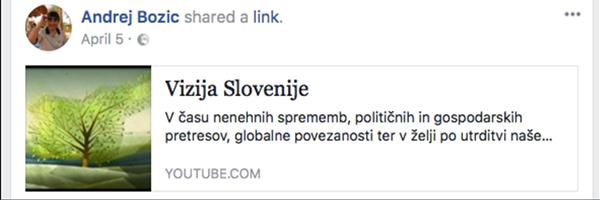 Andrej Božič je aprila letos na facebooku javno podprl Cerarjevo vizijo Slovenije do leta 2050. No, zdaj ga SMC postavlja za predsednika uprave Luke Koper.<br>