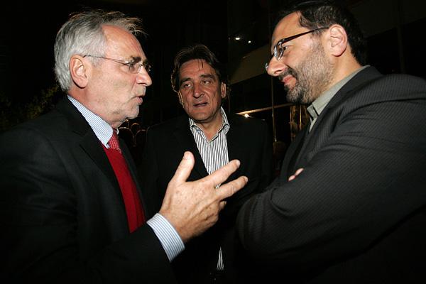 Nekoč je bil Zares: Ivo Vajgl, danes evropski poslanec stranke DeSUS, Ladimir Brolih, in József Györkös, direktor Agencije za raziskovalno dejavnost.<br>