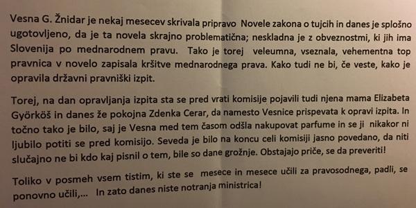 To je del anonimke o Vesni Györkös Žnidar ... (za povečavo kliknite na sliko).<br>