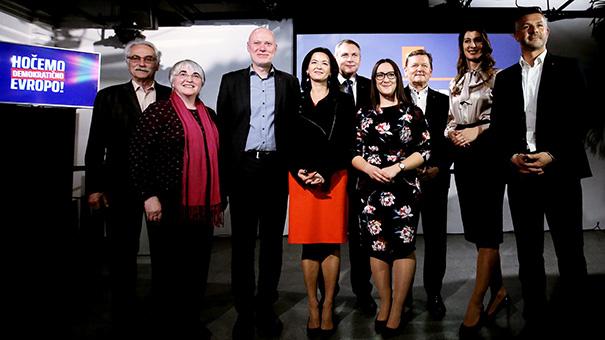 To slo kandidatke in kandidati Socialnih demokratov za evropske poslance.