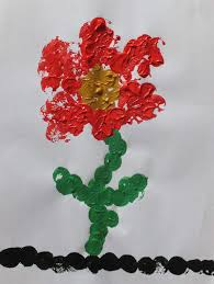 Rezultat iskanja slik za eine blume vom kind gemalt