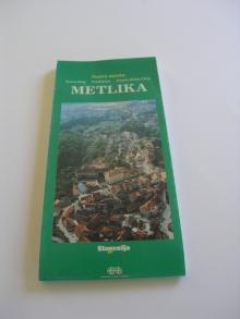 Metlika, karta mesta<br>