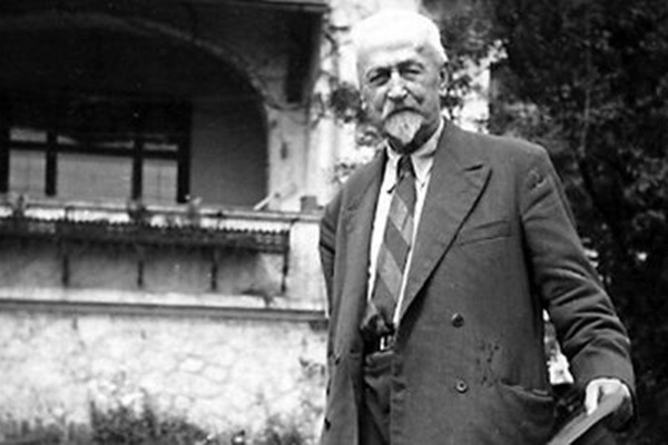 To je bil Maks Fabiani (29. april 1865 – 12. avgust 1962)